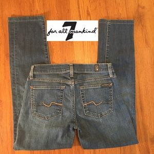 7 For All Mankind Roxanne jean size 27